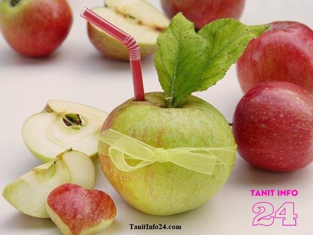 طريقة تحضير عصير التفاح في المنزل