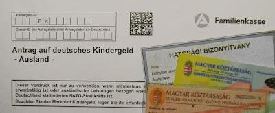Szükséges papírok, igazolások német családi pótlék igényléshez