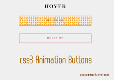 Attractive Css3 On Hover Animation Buttons