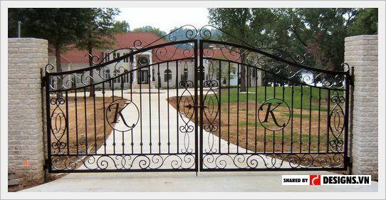 55+ mẫu cửa sắt và cổng sắt đẹp nhìn là thích ngay
