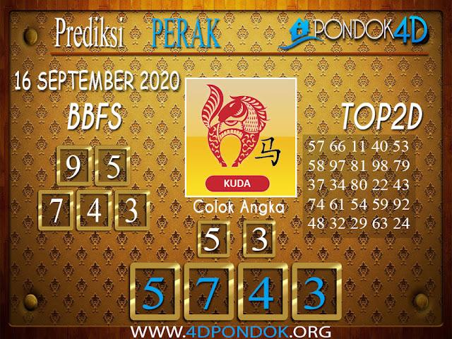 Prediksi Togel PERAK PONDOK4D 16 SEPTEMBER 2020
