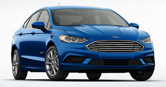 Design and functionality upgrades in the affordable 2017 Ford Fusion