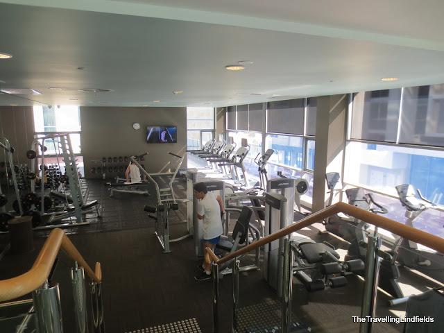 Fraser Suites gym
