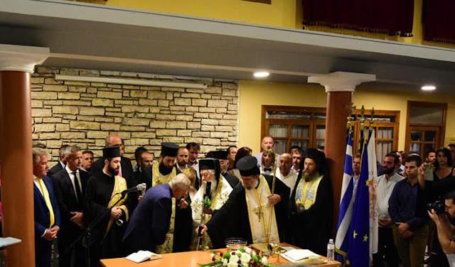 Θεσπρωτία: Με τη δἐσμευση ότι θα συνεχίσει δημιουργικά ορκίστηκε ο δήμαρχος Ηγ/τσας Γιάννης Λώλος