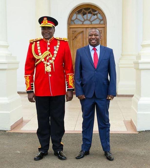 Governor of Nairobi Sonko