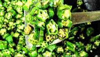 Sauteed bhindi with no slime for bhindi ki sabji bhindi fry recipe