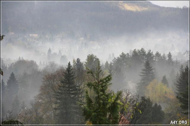 Cuối tháng 9 chút sương mù mùa đông đã về