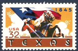 Texas Statehood U.S. Postage Stamp