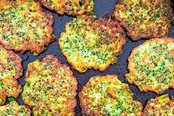 BASIC BROCCOLI FRITTERS #Vegetarian #Meals