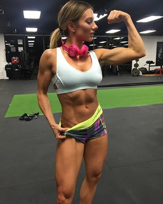 Paige Hathaway Fitness model 5