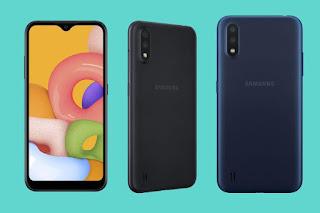smartphone terbaru 2020 Samsung Gallaxy A01