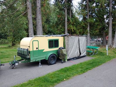 tiny trailer emergency camping bug-out procedures