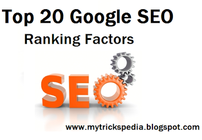Top 20 Google SEO Ranking Factors in 2016