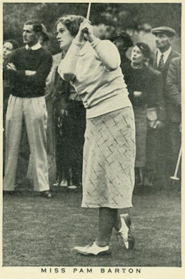 Amateur golf champion Pam Barton of England