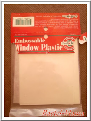 embossable Window Plastic, Judi Kins