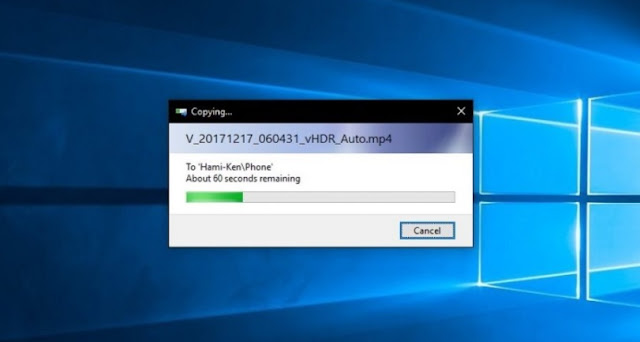 Solusi Mengatasi Copy dan Transfer File Lama