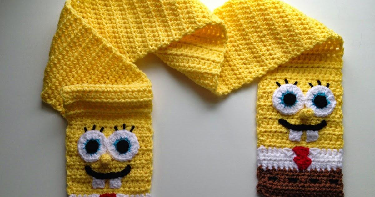 By Jenni Designs Free Crochet Pattern Spongebob Squarepants
