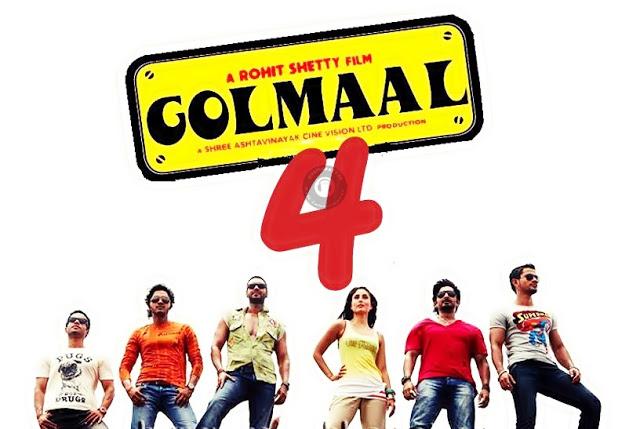 Ajay Devgan Upcoming film Golmaal 4 2016 Wiki, Poster, Release date, Songs list