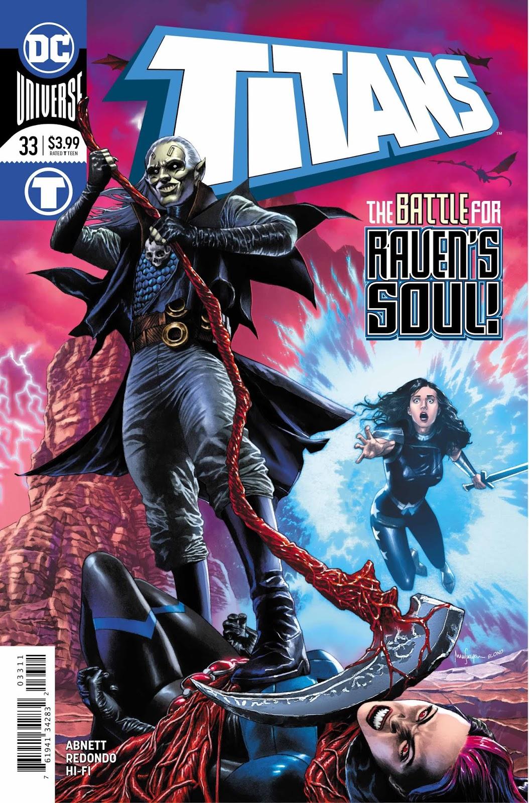 Weird Science DC Comics: PREVIEW: Titans #33
