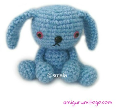 Amigurumi Skinny Baby Bunny Crochet Free Pattern - Crochet #Bunny ... | 439x482