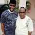 "Yoruba Actor Femi Adebayo Shares Cute Photo With His Dad - Calls Him ""Ore Mi Atata"""
