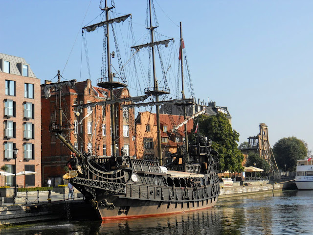 Things to do in Tricity Poland: Take a pirate ship from Gdansk to Westerplatte