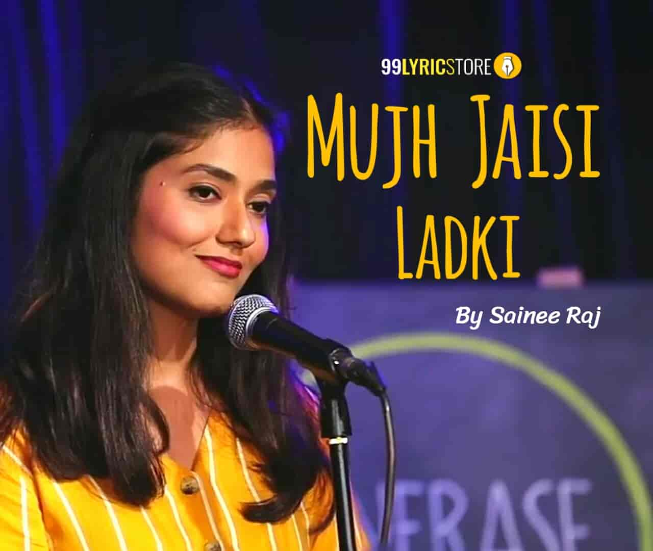 This Beautiful Poem 'Mujh Jaisi Ladki' Has written and Performed by Sainee Raj on the stage of 'UnErase Poetry'.