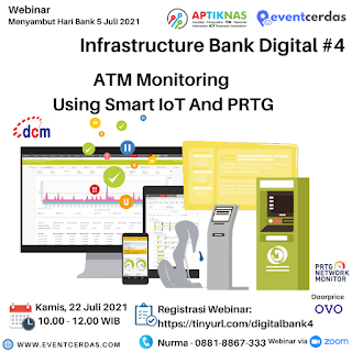 Webinar Infrastructure Bank Digital Day #4 - ATM Monitoring for DIGITAL BANKING