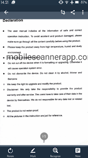 mobile scanner app