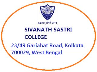 Sivanath Sastri College, 23/49 Gariahat Road, Kolkata 700029, West Bengal