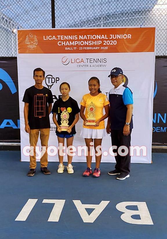 Siswi SMA Negeri Olahraga Jawa Timur Juara Liga.Tennis National Junior Championship