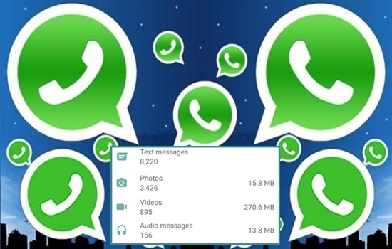 WhatsApp Trick - Find number of calls, messages you have