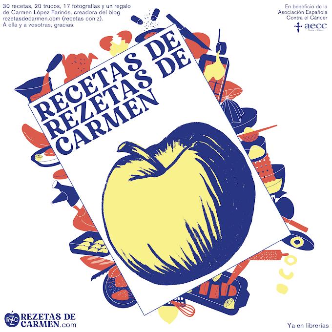 "Libro ""Recetas de Rezetas de Carmen"""