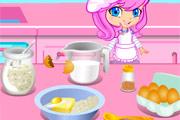 لعبة طبخ فطائر الفراولة الصغيرة