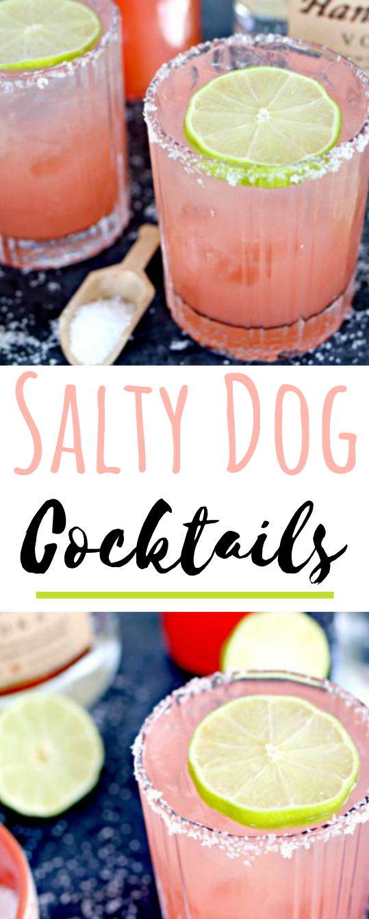 Salty Dog Cocktail #summer #drinks