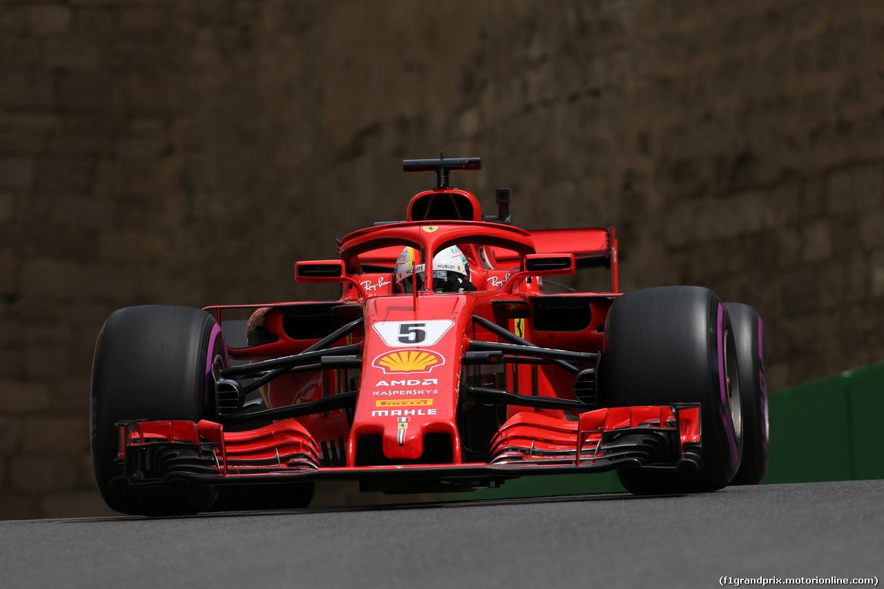 Gp Azerbaijan, Vince Hamilton su Raikkonen, quarto Vettel