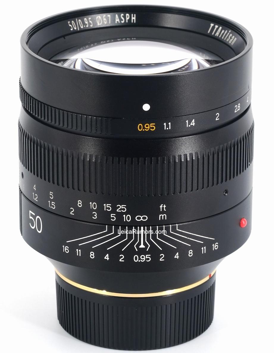 Объектив TTartisan 50mm f/0.95