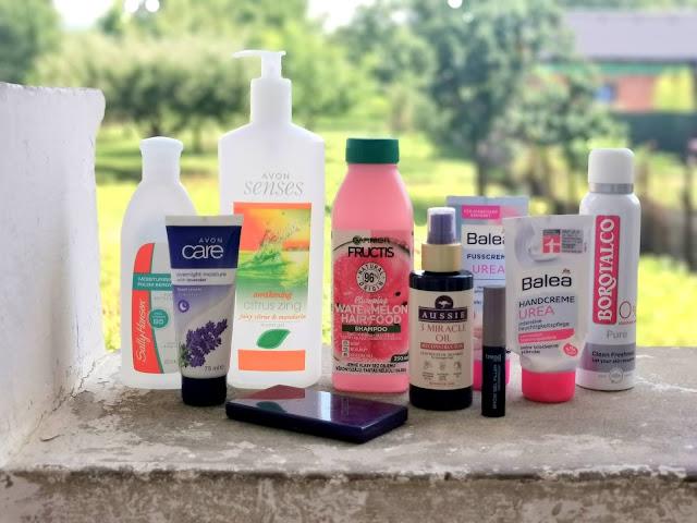 Spotrebovana kozmetika jul 2021 recenzie