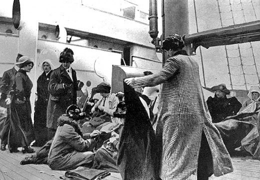 Rare Photographs Of Titanic Survivors In 1912 Vintage
