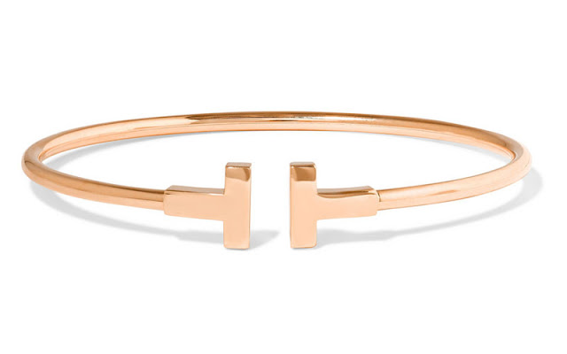 Tiffany & Co. T-Wire 18-Karat Rose Gold Bracelet
