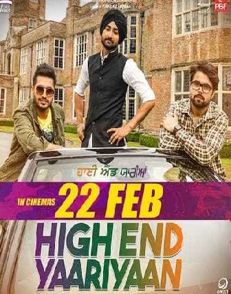 High End Yaariyaan (2019) full hd Punjabi 480p HDTV 350MB