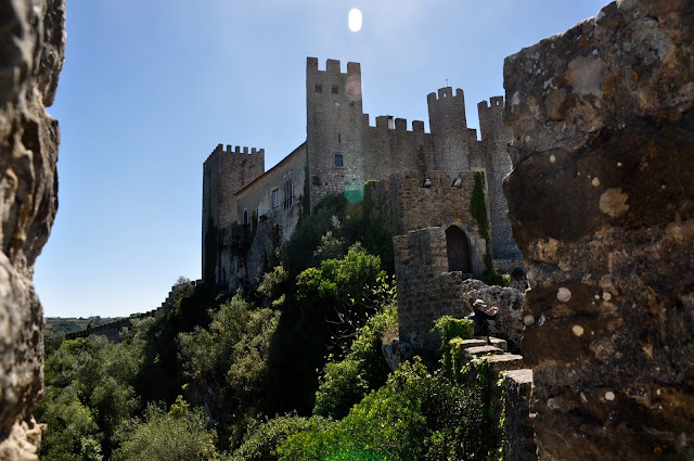 Castle in Obidos Portugal