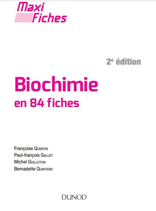 [PDF] Télécharger Livre Gratuit: Maxi fiches - Biochimie - 2e éd