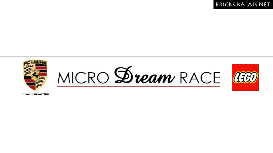 10. Oh, and the Micro Dream Race logo. I created it for this brickfilm.