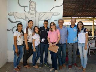 Arquitetos da SUPLAN preparam projeto de reforma da Escola Professor Lordão