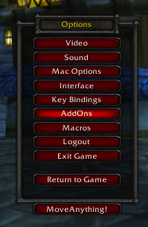 Addon Reviews - Addon Control Panel (3 3 5) | TheWoWcrafters
