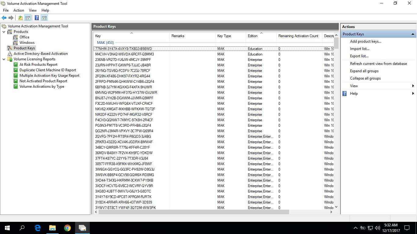 Hướng dẫn tải và cài đặt công cụ Volume Activation Management 3.1 kiểm tra key MAK kích hoạt Windows và Office
