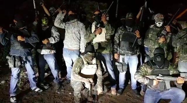 """VIDEO: Grupo armado se atribuye muerte de """"El Brujo"""", jefe narco  y amenaza de muerte a presidente"""