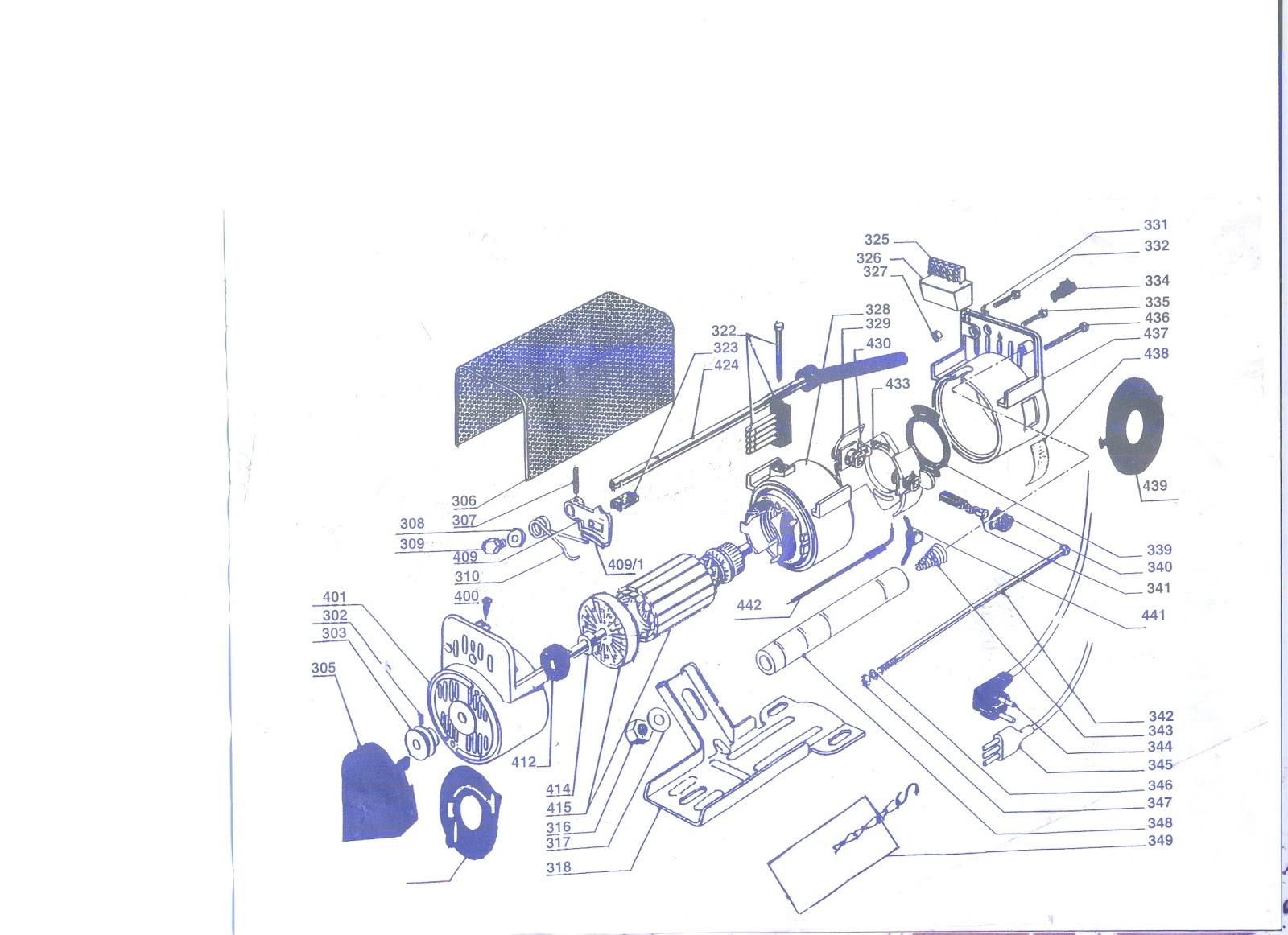 Maquinas de Coser: Despiece del motor Ocel para máquina de