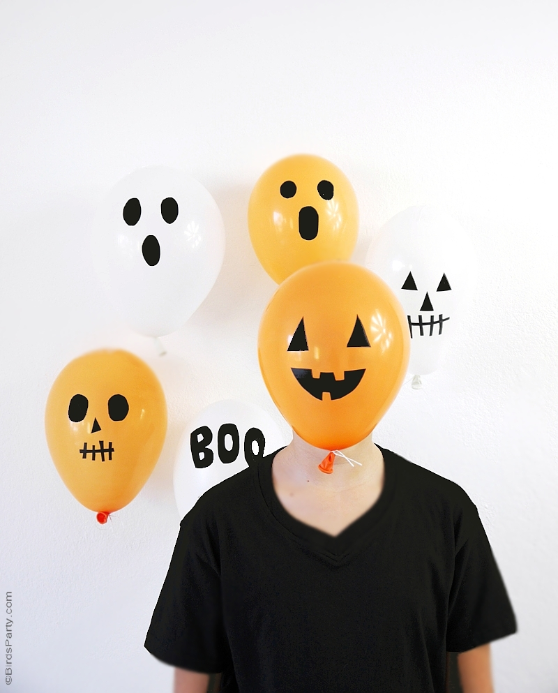 Celebrate the season with these frightfully fun decorating tricks. Last Minute Halloween Party Ideas Food Costumes Party Ideas Party Printables Blog